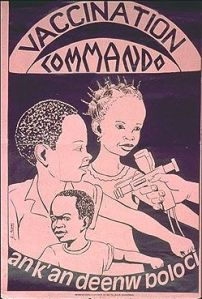 1984 Thomas Sankara declared a total national mobilization ...to immunize all the children against measles.