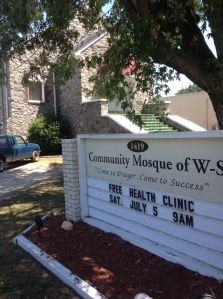 The Community Mosque of Winston-Salem one of our partners in FaithHealthNC.