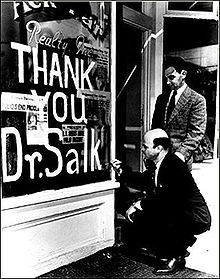 "Jonas Salk believed the answers were in nature once we found the right questions. He did not patent the ""Salk Vaccine."""