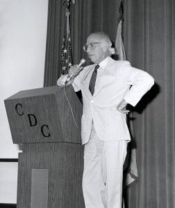 Jonas at the CDC.