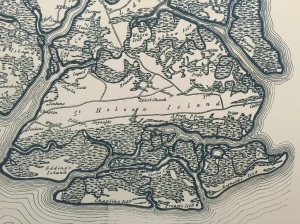 Old maps tell the tale: the beaches move; the marshes live on.