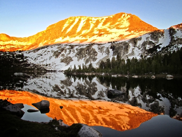 Alpine Glow - Yosemite NP